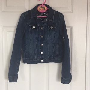 Gap girls jeans jacket